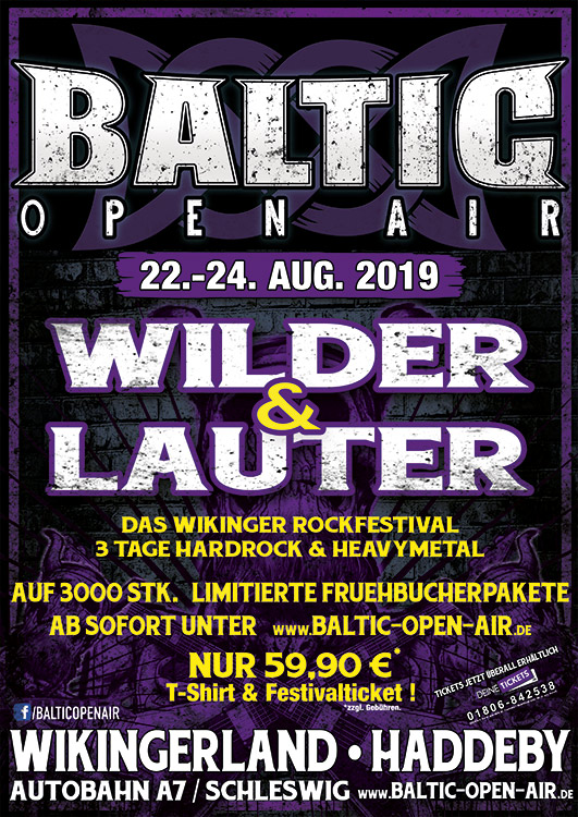 Primal Fear confirmed for Baltic Open Air 2019!