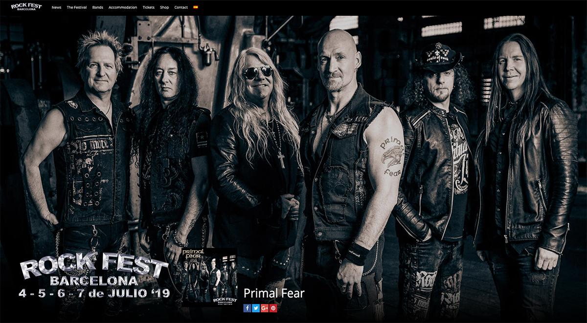 Primal Fear confirmed on Rock Fest Barcelona 2019